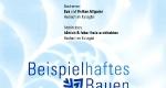 Urkunde: Beipielhaftes Bauen 2008-2014 Ortenaukreis