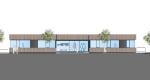 Teilabbruch und Neubau eines Bürogebäudes in Holzbauweis